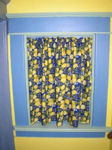 Stairway curtains
