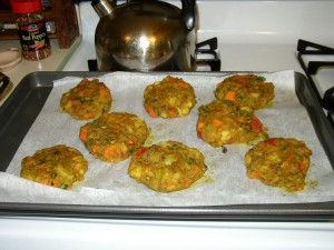 Vegetable Samosa Cakes