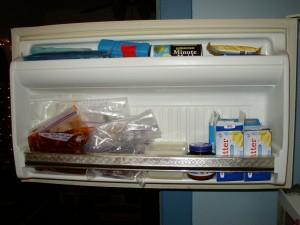 Freezer Inventory Door