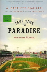 Take Time for Paradise book cover